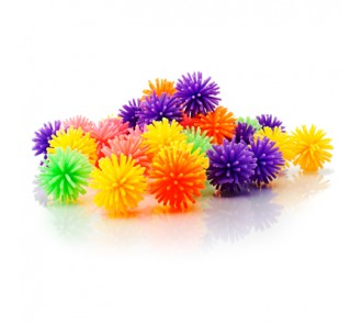Porcupine Balls Neon (Pack of 36)